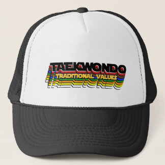 TaeKwonDo Belt Colors: Traditional Values Trucker Hat