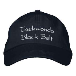 Taekwondo Black Belt - Navy Baseball Cap