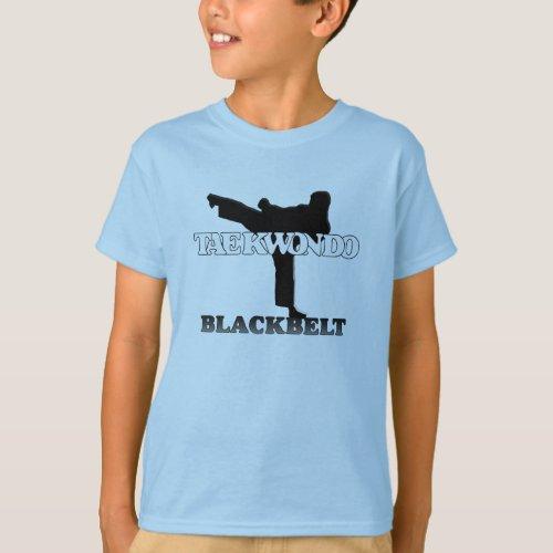 Taekwondo Black Belt T_Shirt