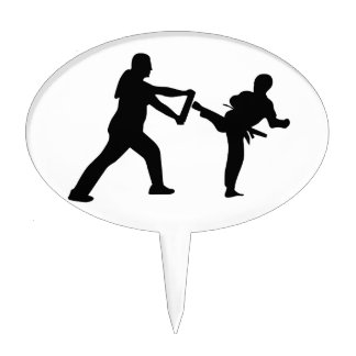 taekwondo cake pick