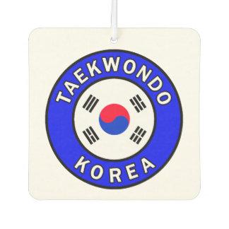 Taekwondo Car Air Freshener