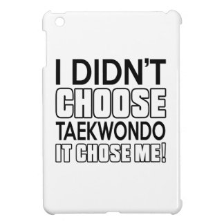 TAEKWONDO CHOSE ME DESIGNS iPad MINI COVER