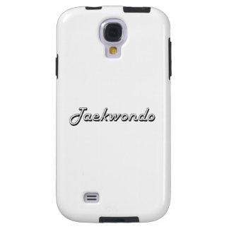 Taekwondo Classic Retro Design Galaxy S4 Case