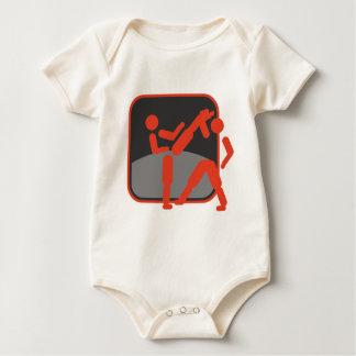 Taekwondo_dd.png Baby Bodysuit