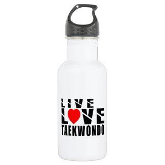TAEKWONDO Designs 18oz Water Bottle