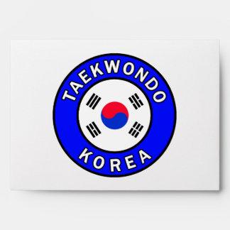 Taekwondo Envelope