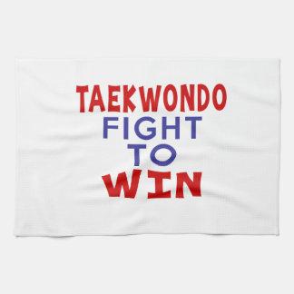 TAEKWONDO FIGHT TO WIN HAND TOWEL