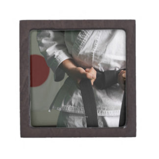 Taekwondo Fighter Tightening Belt Gift Box