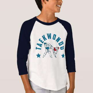 Taekwondo Figthers Collection Kids T-Shirt