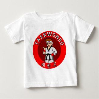 taekwondo guy badge 1 baby T-Shirt