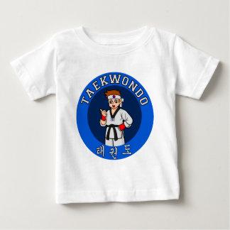 taekwondo guy badge baby T-Shirt