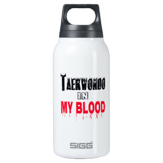 Taekwondo In My Blood 10 Oz Insulated SIGG Thermos Water Bottle