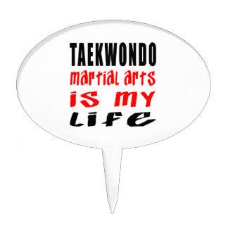 Taekwondo is my life cake topper