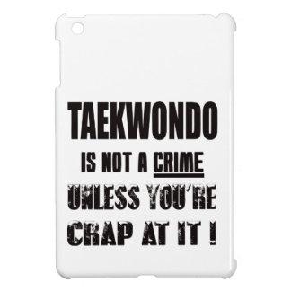 Taekwondo is not a crime case for the iPad mini