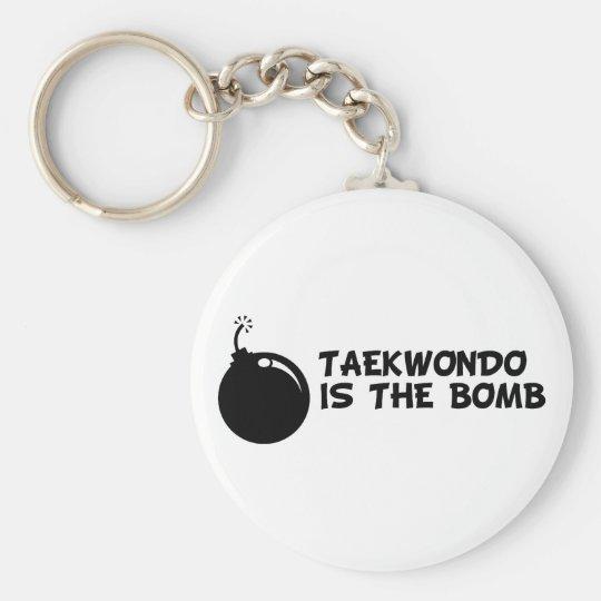 Taekwondo is the Bomb Keychain
