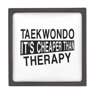 TAEKWONDO IT IS CHEAPER THAN THERAPY JEWELRY BOX