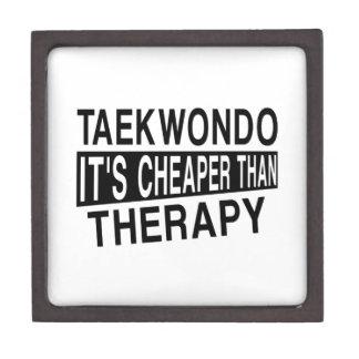 TAEKWONDO IT IS CHEAPER THAN THERAPY JEWELRY BOX