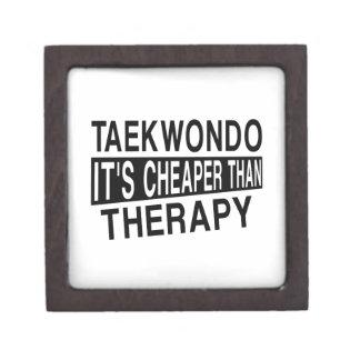 TAEKWONDO IT IS CHEAPER THAN THERAPY KEEPSAKE BOX