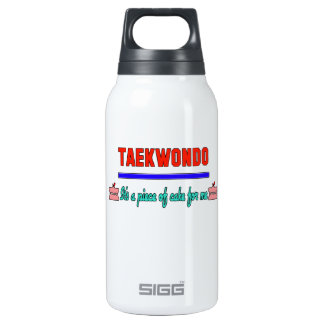 Taekwondo It's a piece of cake for me 10 Oz Insulated SIGG Thermos Water Bottle