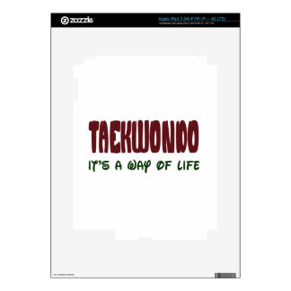 Taekwondo It's a way of life Skin For iPad 3