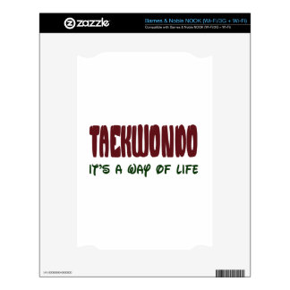 Taekwondo It's a way of life Skins For The NOOK