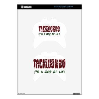 Taekwondo It's a way of life Xbox 360 Controller Skins