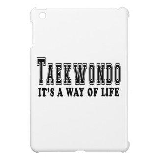 Taekwondo It's way of life iPad Mini Cases