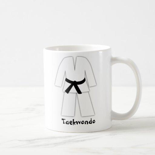 Taekwondo Karate Black Belt Coffee Mug