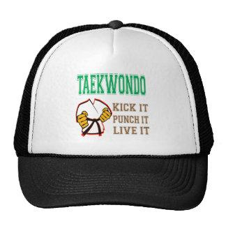 Taekwondo Kick it, Punch it, Live it Trucker Hat