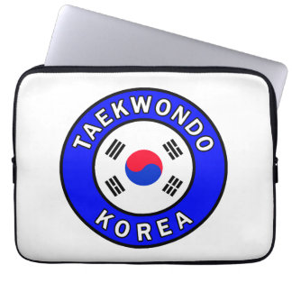 Taekwondo laptop sleeve