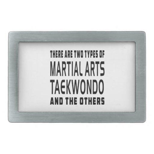 Taekwondo Martial Arts Designs Belt Buckle