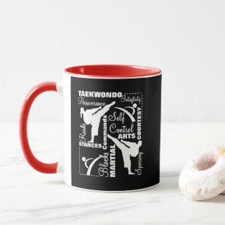 Taekwondo Martial Arts Sports Terminology Mug