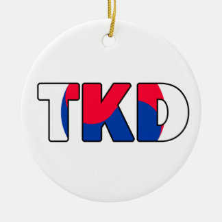 Taekwondo Ornament