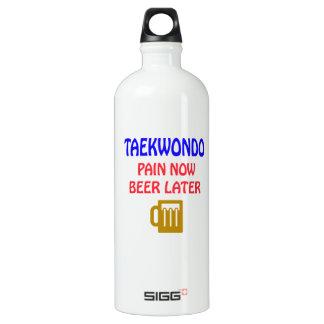 Taekwondo pain now beer later SIGG traveler 1.0L water bottle