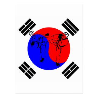 TaeKwonDo Postcard