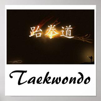 Taekwondo Print
