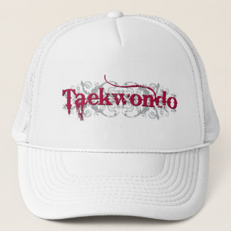 Taekwondo Red Trucker Hat