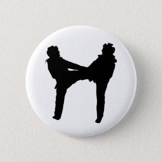 Taekwondo Round Button