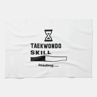 Taekwondo skill Loading...... Hand Towels