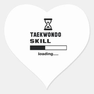 Taekwondo skill Loading...... Heart Sticker