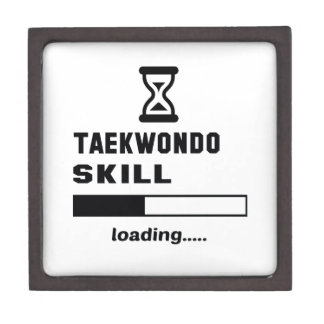 Taekwondo skill Loading...... Keepsake Box
