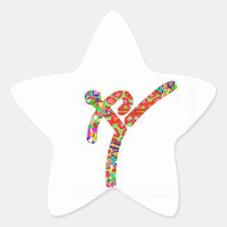 TAEKWONDO Sports Championship Star Sticker
