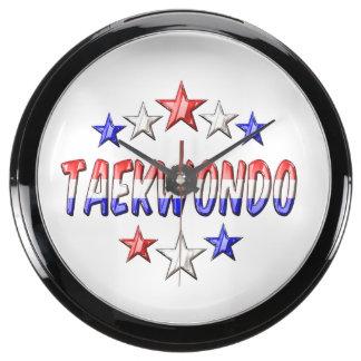 Taekwondo Stars Aquarium Clocks