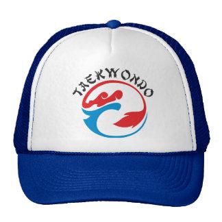 Taekwondo style cap trucker hat