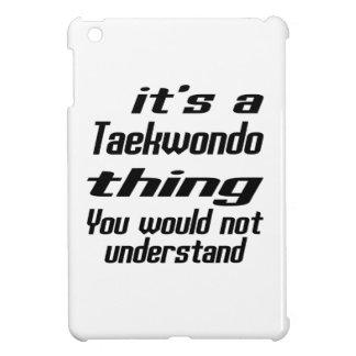 Taekwondo Thing Designs iPad Mini Cases