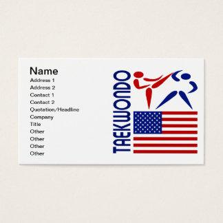 Taekwondo United States Business Card