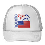 Taekwondo United States Hats