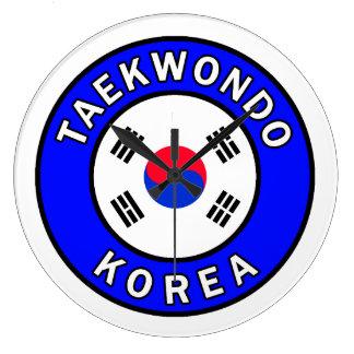 Taekwondo Wallclock