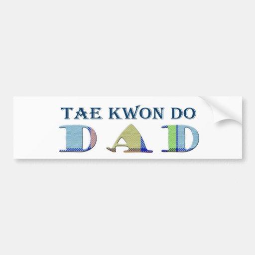 TaeKwonDoDad Car Bumper Sticker