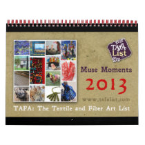 TAFA Calendar 2013: Muse Moments